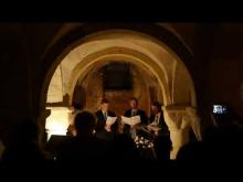 Video of Compline in the Crypt